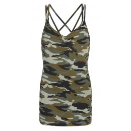 Asquith Bamboo & Organic Cotton Conquer Cami - Camouflage