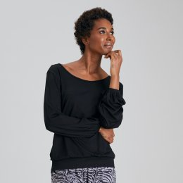 Asquith Bamboo Long Sleeve Batwing Top