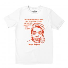All Riot Maya Angelou Organic T-Shirt