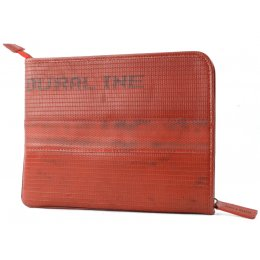 Elvis & Kresse Reclaimed Firehose Tablet Case - Red