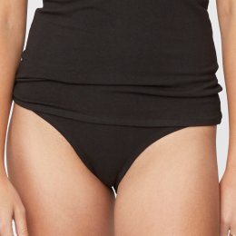 Thought Hannah Bikini Briefs - Black