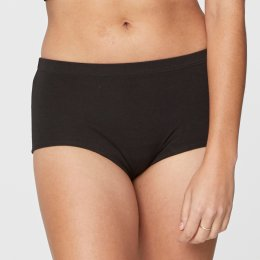 Thought Hannah Boy Short Briefs - Black