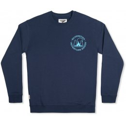 Arugam Adventure Goods Organic Cotton Sweater - Navy