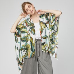 Thought Garabina Floral Print Throw