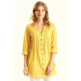Nomads Honey Pleat Detail Shirt