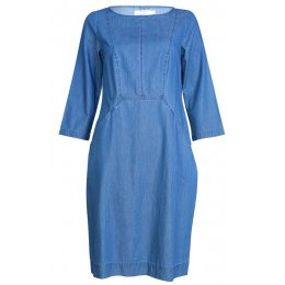 Bibico Emilia Shift Dress - Denim