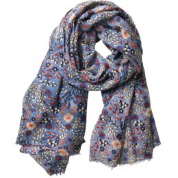 Nomads Sea Blue Bloomsbury Scarf