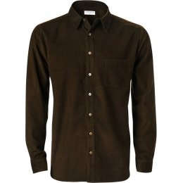 Nomads Chocolate Cord Shirt