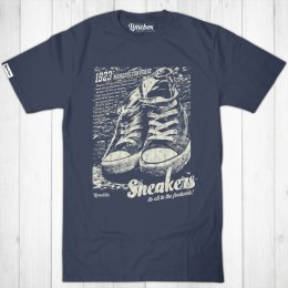 Mens Sneakers Fair Wear Cotton T-Shirt