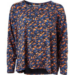 Thought Harvest Orange Brigitta Top