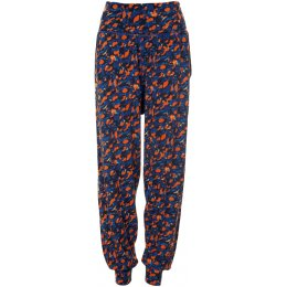 Thought Harvest Orange Brigitta Lounge Pants