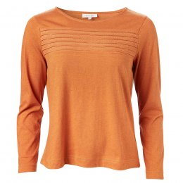 Thought Harvest Orange Margit Top