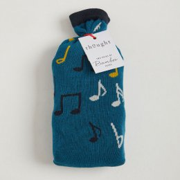 Thought Mens Musician Bamboo Socks in a Bag - 2 Pairs