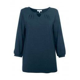 Thought Midnight Navy Sigrun Blouse