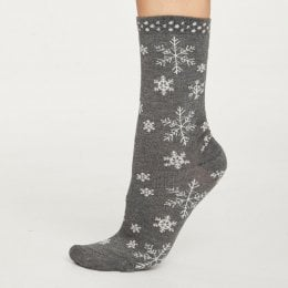 Thought Womens Snowflake Bamboo Socks
