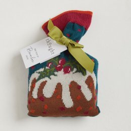 Thought Womens Figgy Pudding Socks in a Bag - 1 Pair