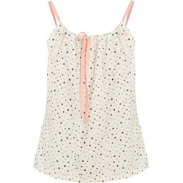 People Tree Heart Print Camisole