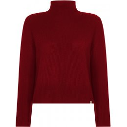 Komodo Womens Burnt Red Keaton Jumper