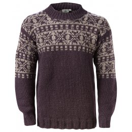 Mens New England Sweater - Charcoal