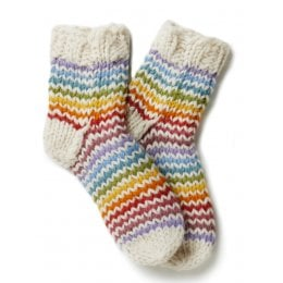 Womens Grenwich Village Socks - Cream