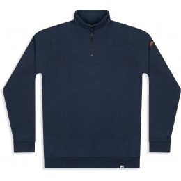 Mens Nevis Quarter Zip Sweatshirt - Navy
