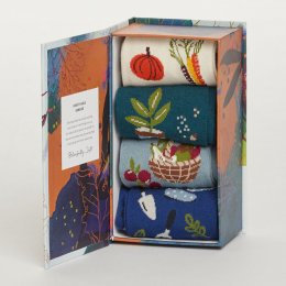 Thought Womens Allotment Bamboo Sock Gift Box