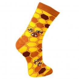 Save Our Bees Bamboo Socks - UK7-12