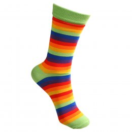 Rainbow Stripe Bamboo Socks - UK3-7