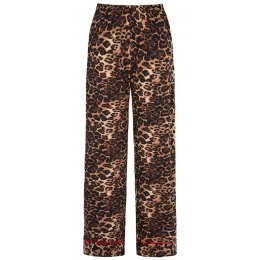 Asquith Bamboo Leopard Print Pyjama Bottoms