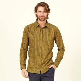 Nomads Fennel Stripe Long Sleeve Shirt