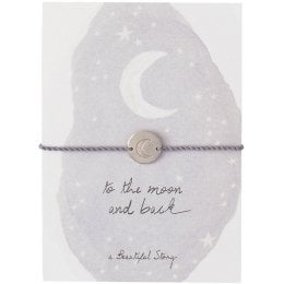 A Beautiful Story Jewellery Postcard - Moon