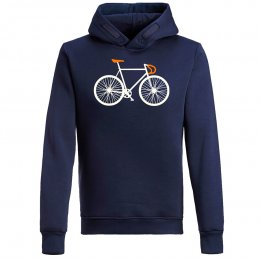 Green Bomb Bike Two Hoodie - Navy