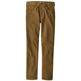 Patagonia Mens Performance Regular Fit Twill Jeans - Coriander Brown