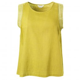 Nomads Citrus Crochet Cotton Vest