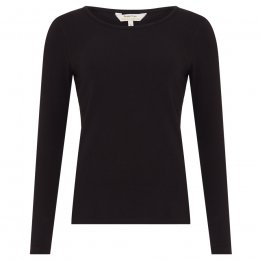 People Tree Organic Fallon Long Sleeve Tee - Black
