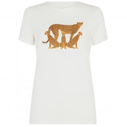 BBC Earth Organic Cheetah Tee