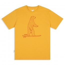 Silverstick Mens Surf Wild T-Shirt - Maize