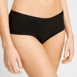 People Tree Organic Short Briefs - Black