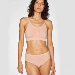 Thought Reneta Recycled Seamless Bralet - Blush