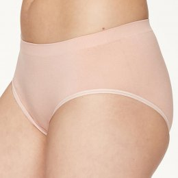 Thought Reneta Recycled Seamless Bikini Briefs - Blush