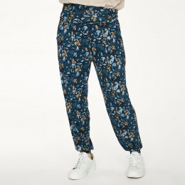 Thought Atkins Printed Slacks - Majolica Blue