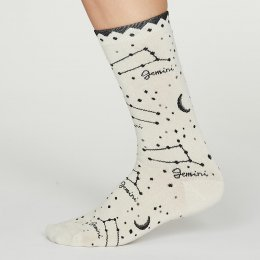 Thought Gemini Zodiac Star Sign Bamboo Socks - UK4-7