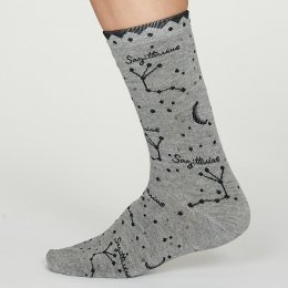 Thought Saggitarius Zodiac Star Sign Bamboo Socks - UK4-7