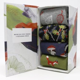 Thought Sybil Bamboo Socks Gift Box - UK4-7