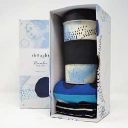 Thought Jarrold Bamboo Cup & Socks Gift Set