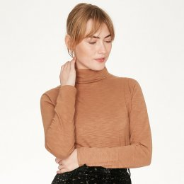 Thought Claudia Top - Camel