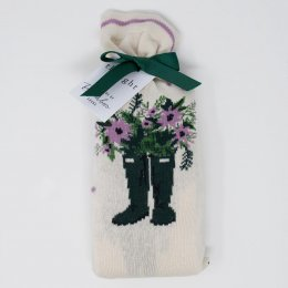 Thought Bess Bamboo Gardener Socks in a Bag - UK4-7 - 2 Pairs