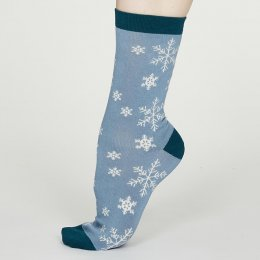 Thought Avice Christmas Bamboo Socks Gift Box - UK4-7