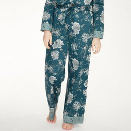 Thought Ellis Pyjama Trousers - Teal Blue