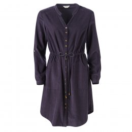 Nomads Aubergine Drawstring Waist Dress